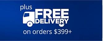 Entrega GRATIS en órdenes de $399+