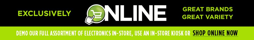 Visit our Electronics Online Showroom
