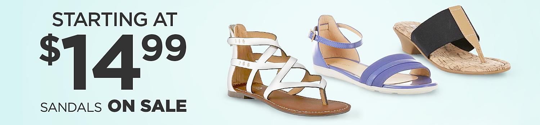 Sandalias para mujer desde $14.99