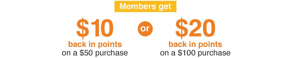 Members always get more