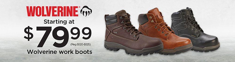 2a640462c1c3 Shop Wolverine Work Boots