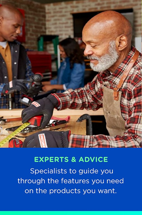 Experts and Advice | Specialists to guide you through the features you need on the products you want.