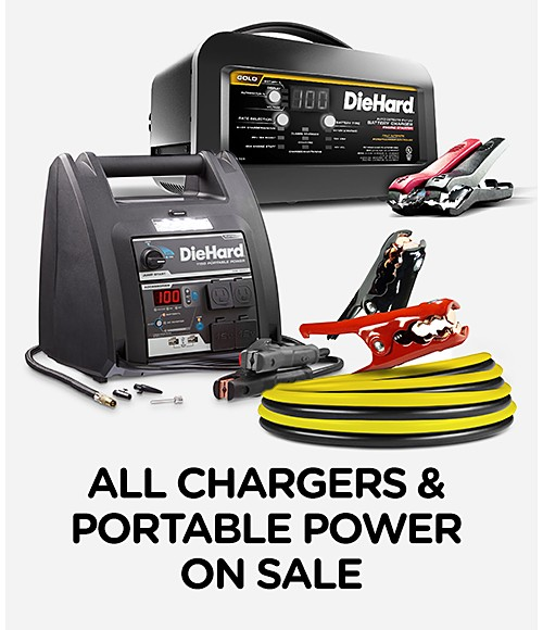 All chargers & portable power on sale