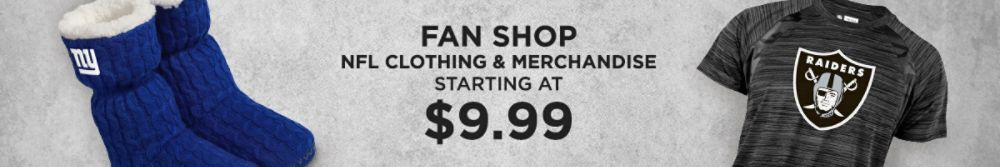 NFL Clothing & Merchandise starting at $9.99