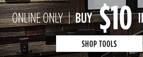 Online Only | Buy $10 In Tools, Get 10% Off Workwear & DieHard Work Boots. Shop Tools
