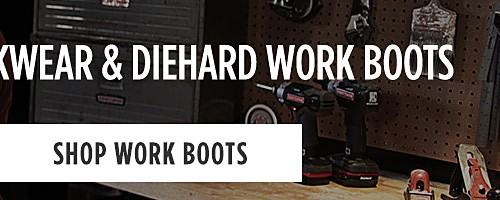 Online Only | Buy $10 In Tools, Get 10% Off Workwear & DieHard Work Boots. Shop work boots