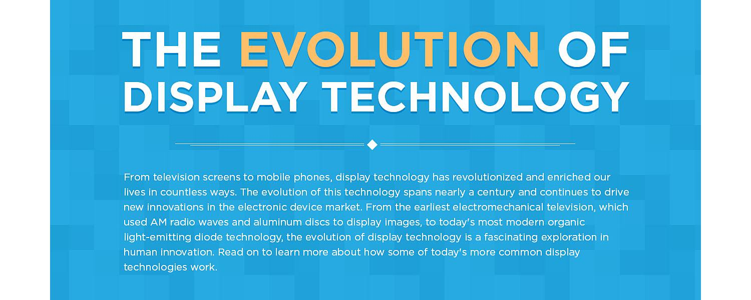 The Evolution of Display Technology