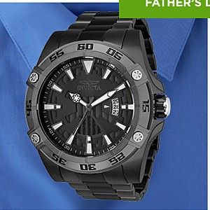 Invicta Men's Pro Diver 44mm Stainless Steel Gold & Black Dial Watch