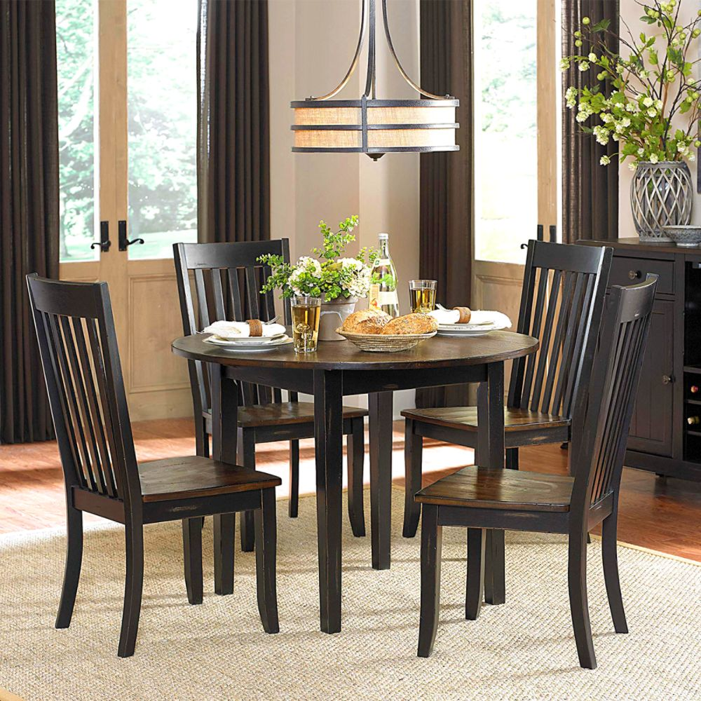Kitchen Furniture Dining Furniture Kmart - Black dining room table and chair sets