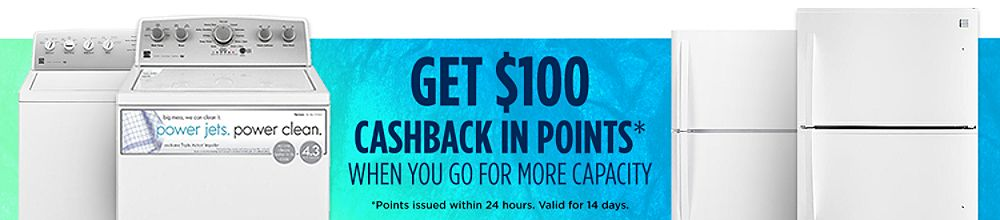 Get $100 CASHBACK in points when you upgrade today!