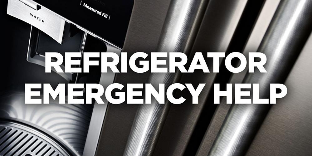 Refrigerator Emergency Help