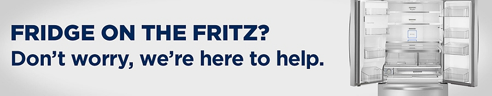 Fridge on the fritz? Don't worry, we're here to help
