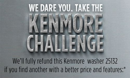 Take the Kenmore Challenge