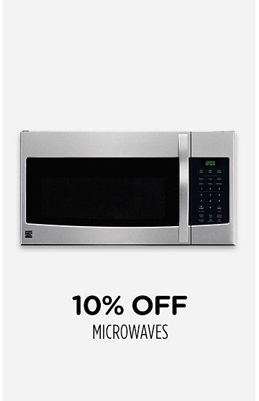 10% off microwaves