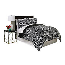 Essential&#x20&#x3b;Home&#x20&#x3b;&#x20&#x3b;Comforter&#x20&#x3b;Mini&#x20&#x3b;Set&#x20&#x3b;-&#x20&#x3b;Zebra&#x20&#x3b;Print
