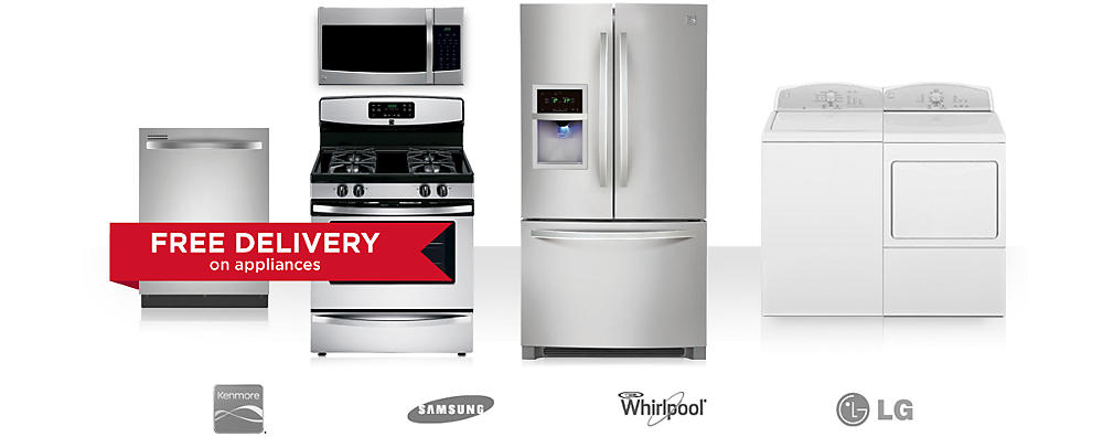 Up to 25% off Kenmore appli