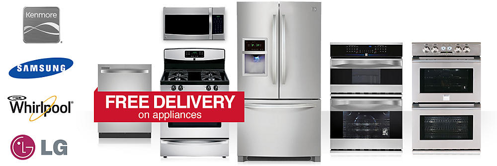 Up to 30% off Kenmore appliances