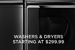 LABOR DAY EVENT  IT'S TIME | UP TO 40% OFF APPLIANCES | WASHERS & DRYERS STARTING AT $299.99