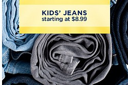 SEMI-ANNUAL BLOWOUT! \ UP TO 70% OFF CLOTHING ACCESSORIES & SHOES | KIDS' JEANS starting at $8.99