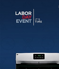 Labor Day Event | Up to 40% off Appliances | FREE Delivery $399+ | Only Sears Offers Top 10 Brands | Expert Advice | Nationwide Service | Price Match