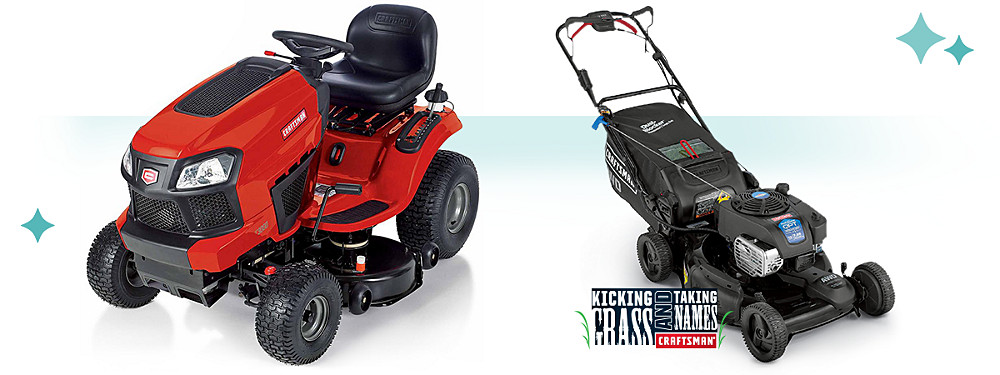 Online only Extra 5% off tractors, mowers & more