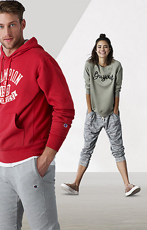 Up to 50% off fleece, hoodies, & more | SHOP CLOTHING