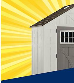 Get 15% CASHBACK in points on outdoor storage