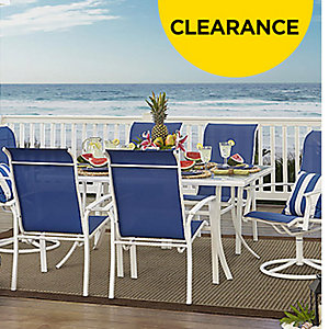 Up to 60% off patio furniture clearance