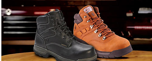 Wolverine work boots, sale $79.99 | Plus, get an extra 15% off 2 or more pairs of shoes with code: SHOE15
