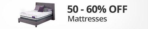 50-60% desc. en colchones