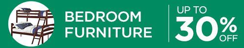 Hasta 30% de descuento en muebles para dormitorio