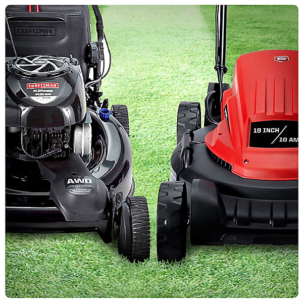 Gas vs. Electric Mower