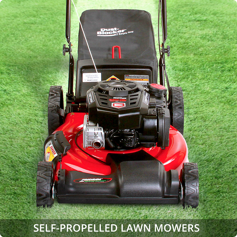 briggs and stratton self propelled lawn mower manual