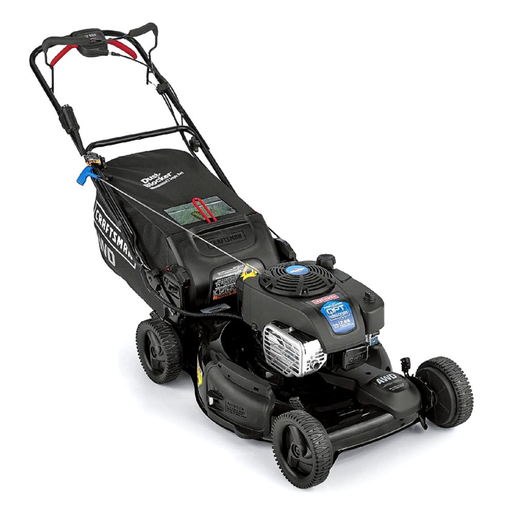 All Wheel Drive Control · All Wheel · Push Mowers