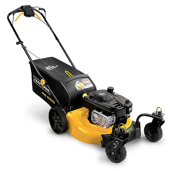 Lawn mowers push mowers sears for Best motor oil for lawn mowers