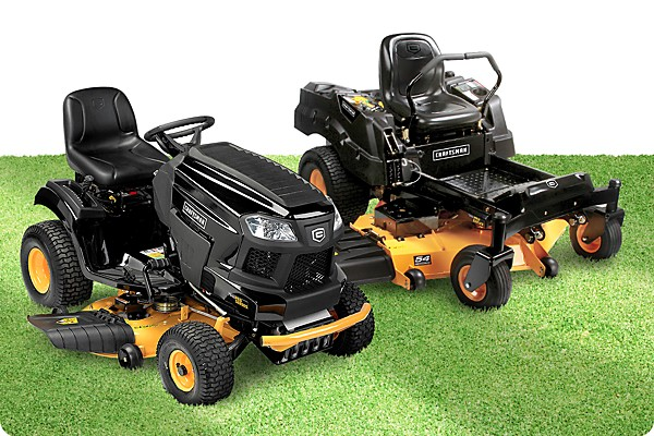 Shop Sears Outlet for new and used Riding Lawn Mowers, Zero Turn Mowers & Tractors for sale. Shop top brands like Craftsman, Husqvarna & more. Buy today!