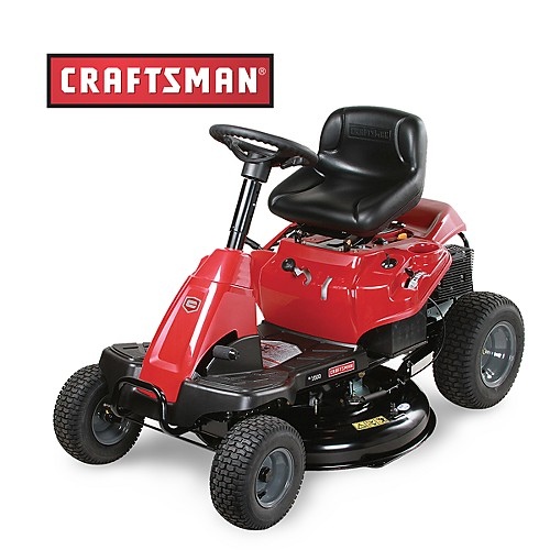 riding lawn mowers at sears outlet image