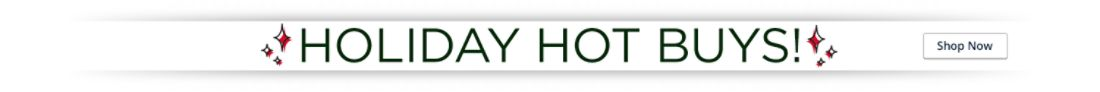 Holiday Hot Buys!