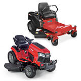 All Riding Mowers & Tractors