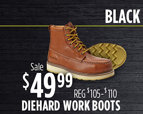 Sale $49.99 DieHard Work Boots