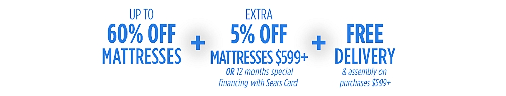 60% off top brand mattresses