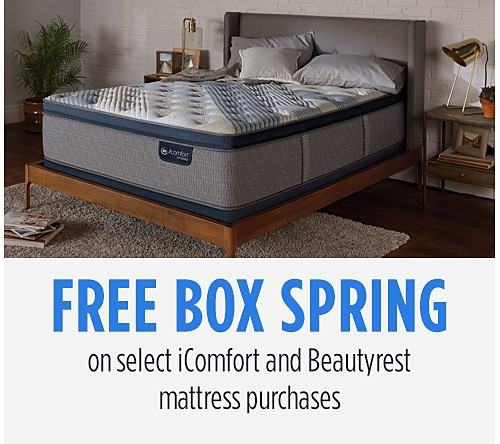 Free Box Spring on Select iComfort & Beautyrest