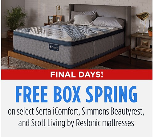 Free Boxspring Event!