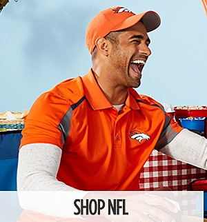 Buy one, get one 50% off NFL Clothing & Merchandise