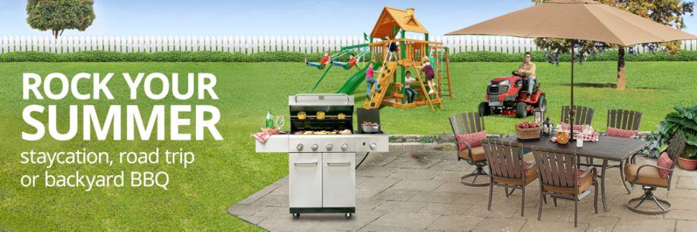Outdoor Summer Shop