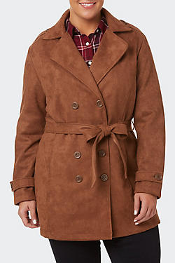Women's Plus Coats & Jackets
