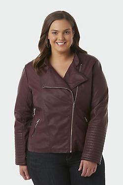 Women's Plus Coats & Jackets