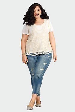 Women's Plus Jeans