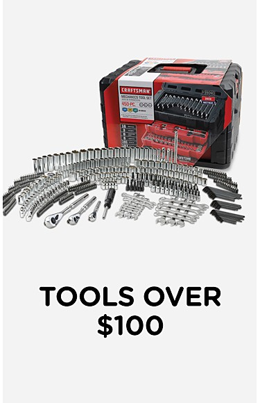 Tools over $100