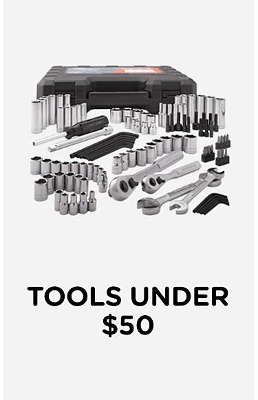 Tools under $50